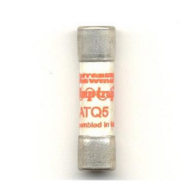 Ferraz Shawmut ATQ5 Amp-Trap 2000® Midget Time-Delay Fuse; 5 Amp, 500 Volt AC