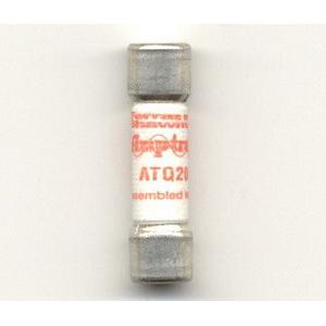 Ferraz Shawmut ATQ20 Amp-Trap 2000® Midget Time-Delay Fuse; 20 Amp, 500 Volt AC