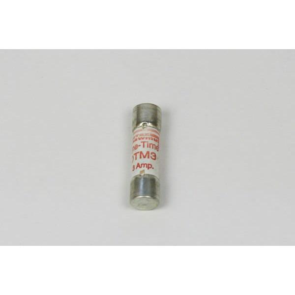 Ferraz Shawmut OTM3 Midget Fast-Acting Fuse; 3 Amp, 250 Volt AC