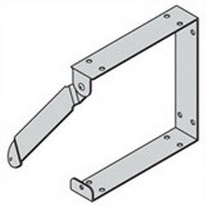 Cooper B-Line 1010C Wireway Connector For Lay-In Wireway; 10 Inch x 10 Inch, Steel, ANSI 61 Gray