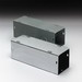 Cooper B-Line 4412GNK Straight Section; 12 Inch x 4 Inch x 4 Inch, 16 Gauge Steel, ANSI 61 Gray