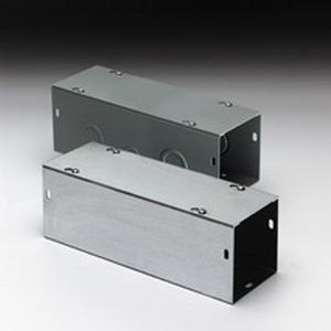 Cooper B-Line 6648G Straight Section; 48 Inch x 6 Inch x 6 Inch, 16 Gauge Steel, ANSI 61 Gray