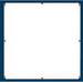 Cooper B-Line 1612P Premier™ Panel; 14 Gauge Steel, White, Enclosure Mount, For NEMA 4/12 Premier Series Enclosure