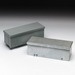 Cooper B-Line 6672GRTNK Wireway Without Knockouts; 72 Inch x 6 Inch x 6 Inch, 16 Gauge Galvanized Steel, ANSI 61 Gray
