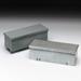 Cooper B-Line 4448GRT-NK Wiring Trough; 48 Inch x 4 Inch x 4 Inch, 16 Gauge Galvanized Steel, ANSI 61 Gray
