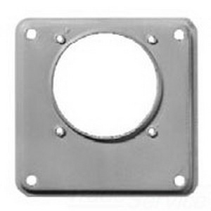 Eaton / Cutler Hammer ARP00015CHAP Large To Small Opening Hub Adapter Plate; 7.750 Inch Length x 3.680 Inch Width x 10.060 Inch Height
