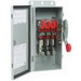 Eaton / Cutler Hammer DH365NRK 4-Wire Fusible/Neutral Heavy-Duty Safety Switch; 600 Volt AC/250 Volt DC, 400 Amp, 3-Pole, NEMA 3R