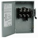 Eaton / Cutler Hammer DG322URB 3-Wire Outdoor Non-Fusible General Duty Safety Switch; 240 Volt AC, 60 Amp, 3-Pole, NEMA 3R