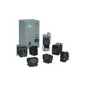 Eaton / Cutler Hammer C25DNJ350B Non-Reversing Definite Purpose Contactor; 3-Pole, 208 - 240 Volt AC At 50/60 Hz Coil, 1 Or 3 Phase, 50 Amp Inductive Full Load, 65 Amp Resistive Per Pole