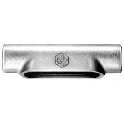 Cooper Crouse-Hinds C57-SA Condulet® Type C Conduit Outlet Body; 1-1/2 Inch, Form 7, NPT, Copper-Free Aluminum