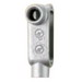Cooper Crouse-Hinds LR125M Type LR Conduit Outlet Body; 1-1/4 Inch, Form 5, Threaded, Malleable Iron