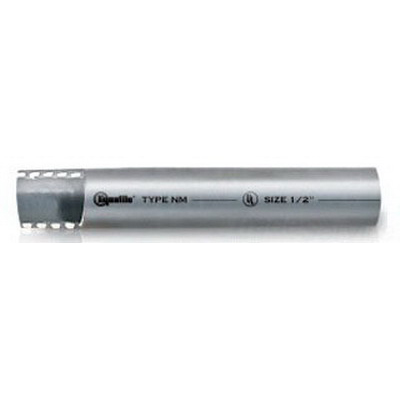 Electri-Flex NM12-GRY-3/4-100FT Liquatite® Liquidtight Non-Metallic Flexible Conduit; 3/4 Inch, 100 ft Length, PVC