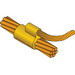 Erico pcC2Q1H Cadweld® Standard Mold; 4/0 AWG Concentric Run, 6 AWG Concentric Tap, Horizontal Cable to Cable