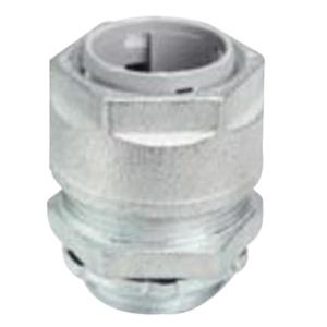 O-Z/Gedney SR-100-1000 Grip-Tite® Strain Relief Connector; 1 Inch NPT, 0.875 - 1 Inch, Malleable Iron