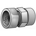 O-Z/Gedney ETR-100 Type ETR Combination Transition Coupling; 1 Inch, Malleable Iron
