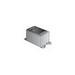 O-Z/Gedney FDA175 Deep 1-Gang FDA Cast Device Box; Gray Iron, 28 Cubic-Inch, 3/4 Inch Hub