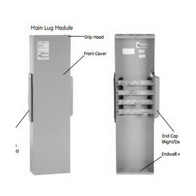 GE Distribution TMPL750 Meter Mod® III Standard Main Lug Module; 800/1200 Amp
