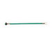Ideal 30-3284 Stranded Wire Grounding Tail; Green, Ultra-Flexible Lead Wire, 12 AWG, 8 Inch Length, 100/Bundle