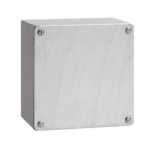 Hoffman A16168GSC Enclosure 8 Inch Depth  14 Gauge Galvanized Steel  Gasketed/Screw-On Cover