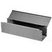 Hoffman F44G120WK Straight Section; 120 Inch x 4 Inch x 4 Inch, 14/16 Gauge Steel, ANSI 61 Gray