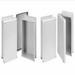 Hoffman Pentair HJ606WLG Solid Flat Cover Non-Metallic Enclosure; 4.900 Inch Depth, Fiberglass, RAL 7035 Light Gray, Wall Mount, Overlapping/Screwed Cover