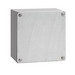 Hoffman A10104GSC Enclosure; 4 Inch Depth, 14 Gauge Steel, Clear, Gasketed/Screw-On Cover