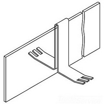 Hoffman F44BB2C Barrier Kit For Lay-In Wireway; 4 Inch x 4 Inch, Steel
