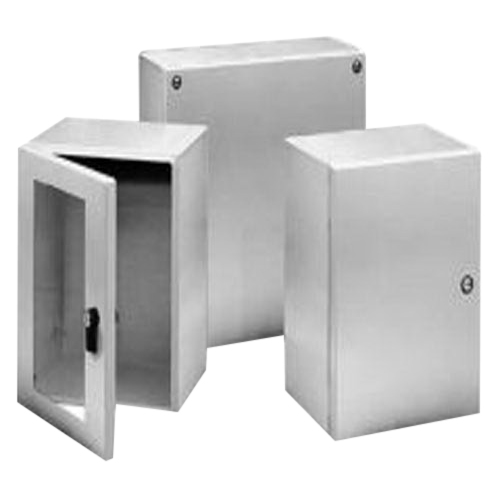 Hoffman Pentair LHC151512SS Inline™ Solid Single Door Quarter-Turn Latch Style Equipment Protection Enclosure; 14 or 16 Gauge 304 Stainless Steel, Wall Mount, Hinged/Padlocking Cover