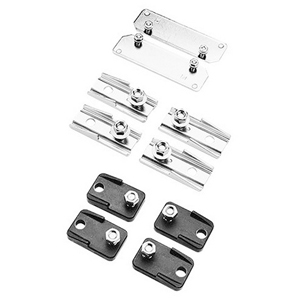 Hoffman CMFK Mounting Bracket Kit; Steel, 3/8-16, 4/PK