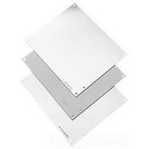 Hoffman A16N16MP Panel; Steel, White, For Medium NEMA 1 Panel Enclosures