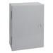 Hoffman Pentair A20N20ALP Solid Single Door Medium Equipment Protection Enclosure; 14 Gauge Steel, ANSI 61 Gray, Wall Mount, Hinged Cover