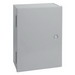Hoffman Pentair A20N20BLP Solid Single Door Medium Equipment Protection Enclosure; 14 Gauge Steel, ANSI 61 Gray, Wall Mount, Hinged Cover