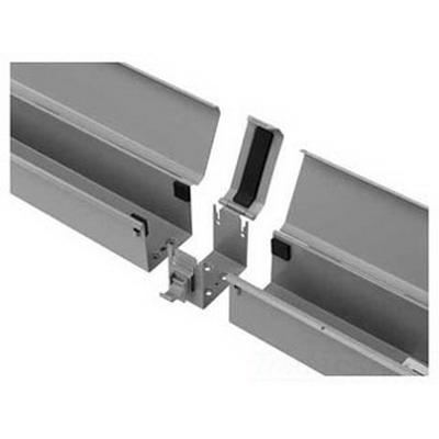 Hoffman F66T3R12 Straight Section; 12 Inch x 4 Inch x 4 Inch, 14/16 Gauge Galvanized Steel, ANSI 61 Gray