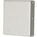 Hoffman Pentair F1010GCPNK Closure Plate For Lay-In Flat Cover Wireway; 10 Inch x 10 Inch, Steel, Gray