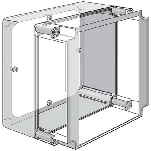 Hoffman Q2518PE Qline™ E Panel; Steel, For Q-25188ABE, Q-25188ABECC Qline NEMA 4/4X/6/12/13, IP67 Enclosure