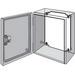 Hoffman LP3025 Panel; 12 Gauge Steel, White, For L-HC302515EMC, L-HC302515SS NEMA 4/4X/12, IP55/66 Instrumentation Enclosure