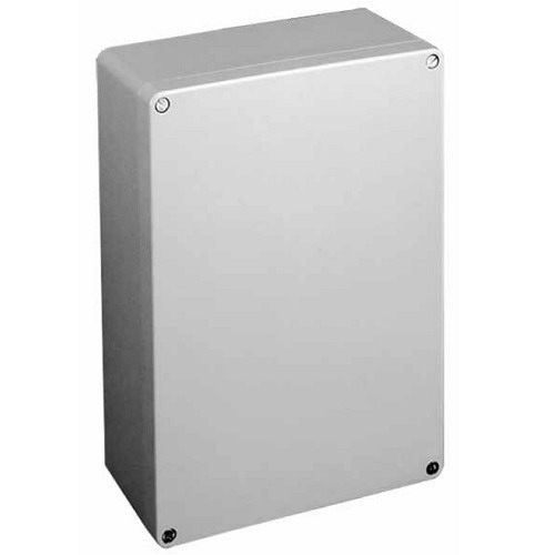 Hoffman Pentair CCA26169 Compact™ Solid Single Door Equipment Protection Enclosure; Cast Aluminum, RAL 7042 Gray, Wall Mount, Screwed Cover