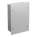 Hoffman AFE10X10 Flush Cover; 16 Gauge Steel, Gray, Fits 10 Inch x 10 Inch Pull Box