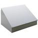 Hoffman C12C16 Consolet; 14 Gauge Steel, ANSI 61 Gray, Desktop/Pedestal/Surface Mount, Sloped Cover