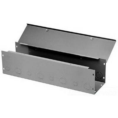 Hoffman F66G24WK Straight Section; 24 Inch x 6 Inch x 6 Inch, 14/16 Gauge Steel, ANSI 61 Gray
