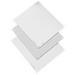 Hoffman A8P6 Panel; 14 Gauge Steel, White, For Junction Box/Enclosure
