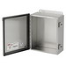 Hoffman A606CHNFSS Enclosure; 4 Inch Depth, 16 Gauge 304 Stainless Steel, Gasketed/Hinged Cover