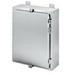 Hoffman Pentair A42H3010SSLP Solid Single Door Equipment Protection Enclosure; 14 Gauge 304 Stainless Steel, Wall Mount, Padlocking Cover