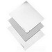 Hoffman A10N8P Panel; 14 Gauge Steel, White, For Type 1 Enclosures and Small Type 3R Enclosures