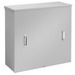 Hoffman A363611CT Current Transformer Cabinet; Steel, 36 Inch Width x 11 Inch Depth, Surface Mount, Screwed Cover, ANSI 61 Gray
