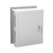 Hoffman Pentair A24H2006GQRLP Solid Single Door Quick-Release Latch Style Equipment Protection Enclosure; 6 Inch Depth, Fiberglass, Gray, Wall Mount, Hinged/Padlocking Cover