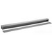 Hoffman A6672RT Wiring Trough; 72 Inch x 6 Inch x 6 Inch, 16 Gauge Plated Steel, ANSI 61 Gray