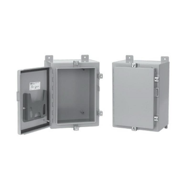 Hoffman pentair a30h24blp solid single door equipment for 14 gauge steel door