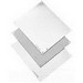 Hoffman A16P12 Panel; Steel, White, (4) Hole Mount, For Type 3R, 4, 4X, 12 and 13 Enclosures