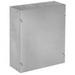 Hoffman ASE8X8X6NK Pull Box; 6 Inch Depth, 16 Gauge Steel, ANSI 61 Gray, Wall Mount, Flat/Screw-On Cover